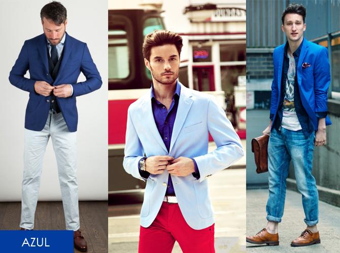 2495478c6a Moda Verão Masculino 2015 – Blazers Coloridos