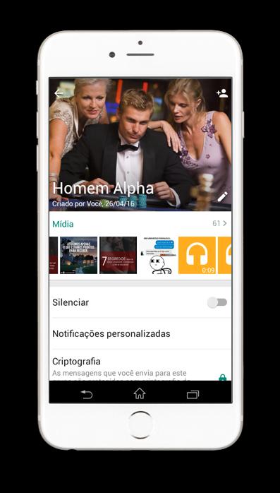 Grupo Alphas WhatsApp