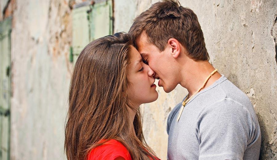 querer beijar você